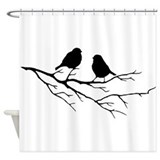 Birds Shower Curtains