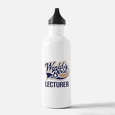 Lecturer (Worlds Best) Water Bottle