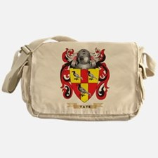 Tate Family Crest (Coat of Arms) Messenger Bag
