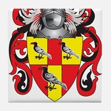 Tate Family Crest (Coat of Arms) Tile Coaster