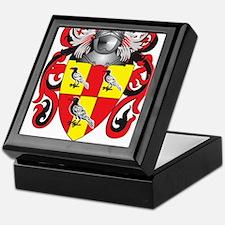 Tate Family Crest (Coat of Arms) Keepsake Box