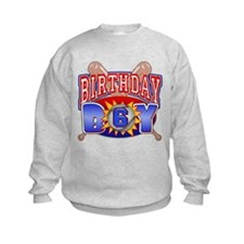 Baseball 6th Birthday Sweatshirt