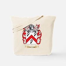 Tatum Family Crest (Coat of Arms) Tote Bag