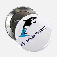 """Whale Shirt 2.25"""" Button"""
