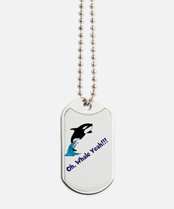 Whale Shirt Dog Tags