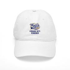 Language Arts Teacher (Worlds Best) Baseball Cap