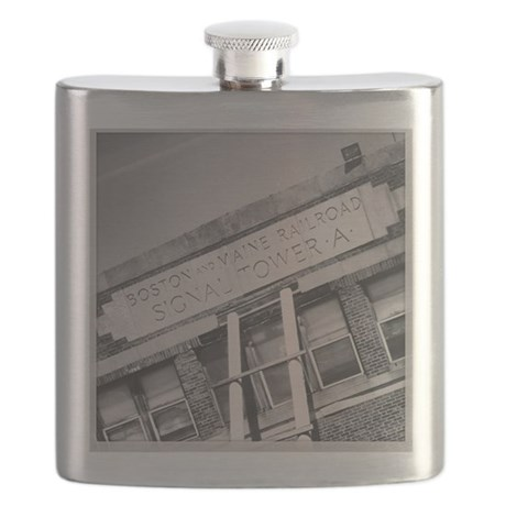 Boston and Maine Flask