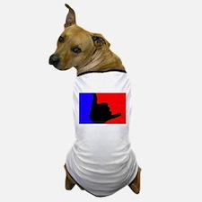 Blue/Red Shaka Dog T-Shirt