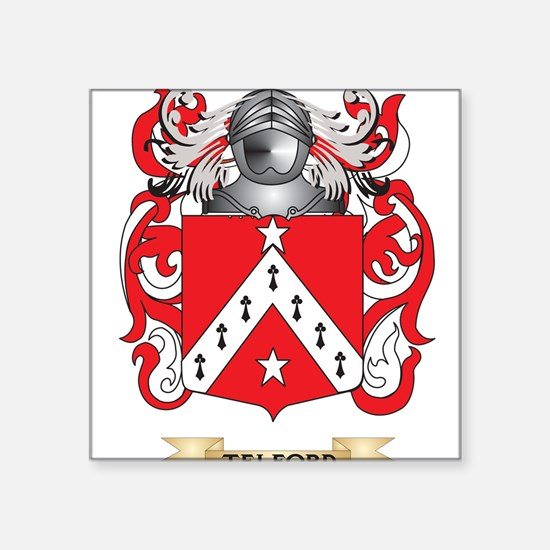 Telford Family Crest (Coat of Arms) Sticker