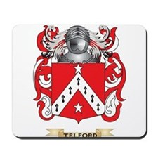 Telford Family Crest (Coat of Arms) Mousepad