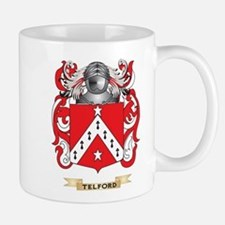 Telford Family Crest (Coat of Arms) Mugs