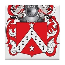 Telford Family Crest (Coat of Arms) Tile Coaster