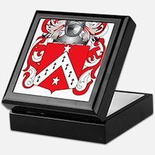 Telford Family Crest (Coat of Arms) Keepsake Box