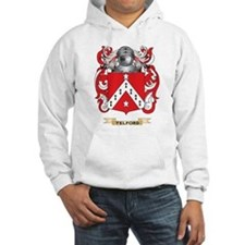 Telford Family Crest (Coat of Arms) Hoodie