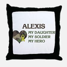 Alexis: My Hero Throw Pillow