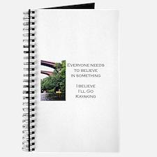 Believe in Kayaking Journal
