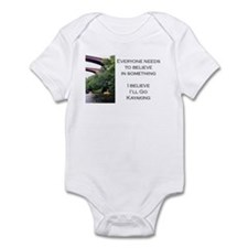 Believe in Kayaking Infant Bodysuit
