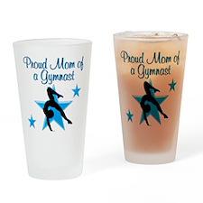 TOP GYMNAST MOM Drinking Glass
