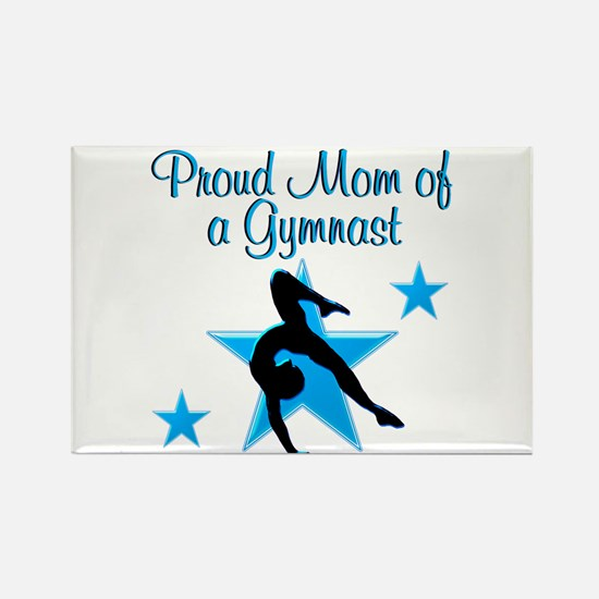 TOP GYMNAST MOM Rectangle Magnet