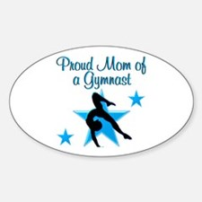 TOP GYMNAST MOM Decal