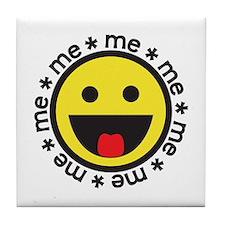 Very Happy Me  Tile Coaster