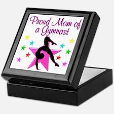 SUPER GYMNAST MOM Keepsake Box
