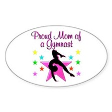 SUPER GYMNAST MOM Decal