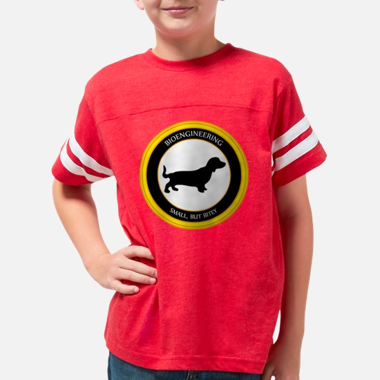 Small But Bitey Black Huge Youth Football Shirt