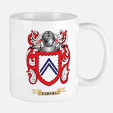Terrill Family Crest (Coat of Arms) Mugs