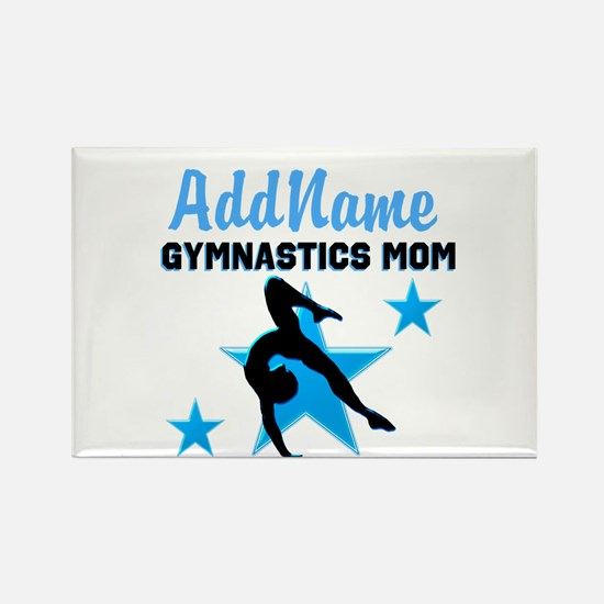 STAR GYMNAST MOM Rectangle Magnet