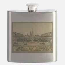 St. Louis Cathedral Flask