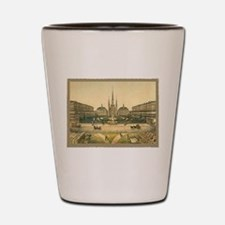 St. Louis Cathedral Shot Glass