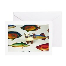 Siamese Fish Card