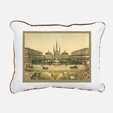 St. Louis Cathedral Rectangular Canvas Pillow