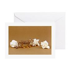 Clouded Leopard Card