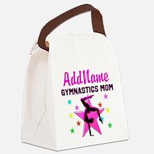 GREAT GYMNAST MOM Canvas Lunch Bag