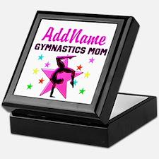 GREAT GYMNAST MOM Keepsake Box