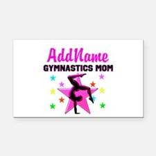 GREAT GYMNAST MOM Rectangle Car Magnet