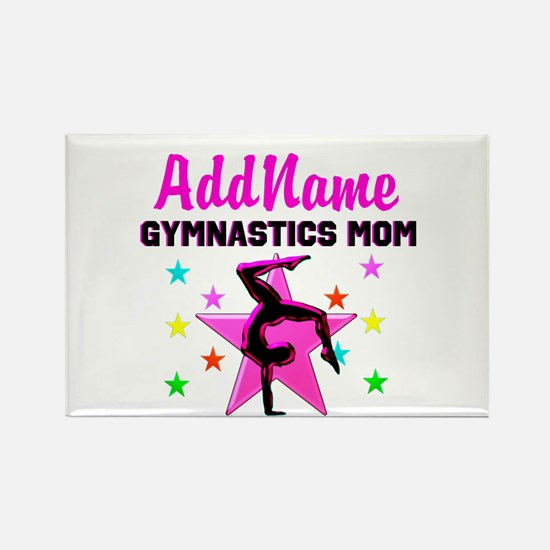 GREAT GYMNAST MOM Rectangle Magnet