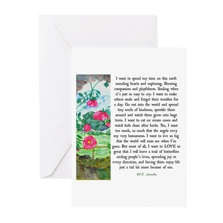 Earth Angel Greeting Cards (Pk of 10)
