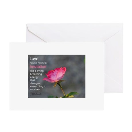 Love's Energy Greeting Cards (Pk of 10)