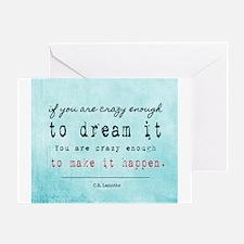 Crazy Dreamer Greeting Card