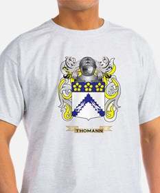 Thomann Family Crest (Coat of Arms) T-Shirt