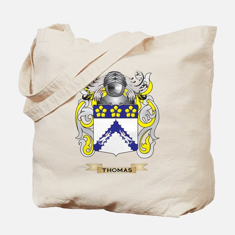 Thomas Family Crest (Coat of Arms) Tote Bag