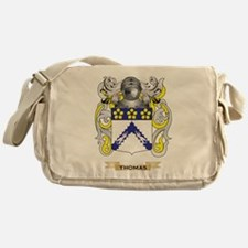 Thomas Family Crest (Coat of Arms) Messenger Bag