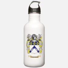 Thomas Family Crest (Coat of Arms) Water Bottle