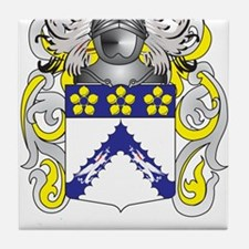 Thomas Family Crest (Coat of Arms) Tile Coaster
