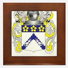 Thomas Family Crest (Coat of Arms) Framed Tile