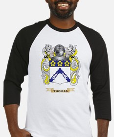 Thomas Family Crest (Coat of Arms) Baseball Jersey