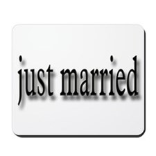 Just Married #5 Mousepad